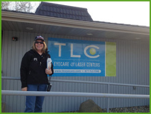 TLC Eyecare Satisfied Customer