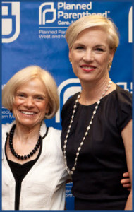 Planned Parenthood Leaders: Katherine Humphrey and Cecile Richards