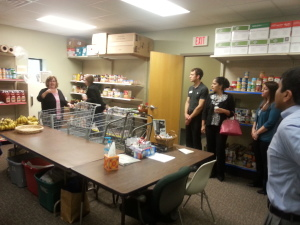 The food pantry at the Macatawa Resource Center
