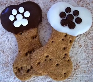 Hand made dog treats by D.O.G. Bakery