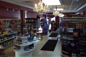 Interior of D.O.G. Bakery's Retail Store