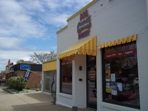 D.O.G. Bakery Storefront in Traverse City, Michigan
