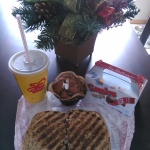Tim Hortons Panini Combo with Timbits