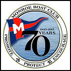 Monroe Boat Club 70th Anniversary Logo