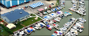 The Docks at the Monroe Boat Club